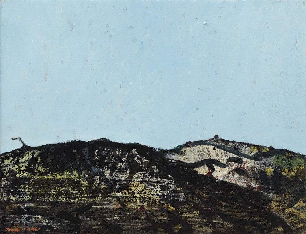 Canvas_Klitmøller_27x35cm_Oil on canvas_2006