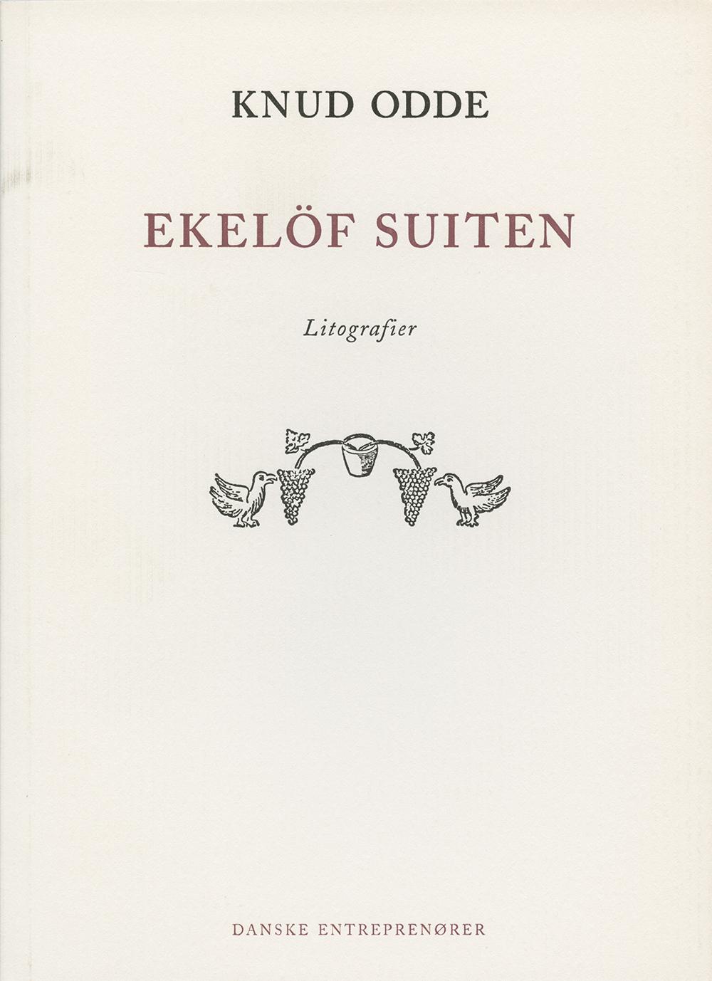 Knud Odde, Ekelöf Suiten – Litografier