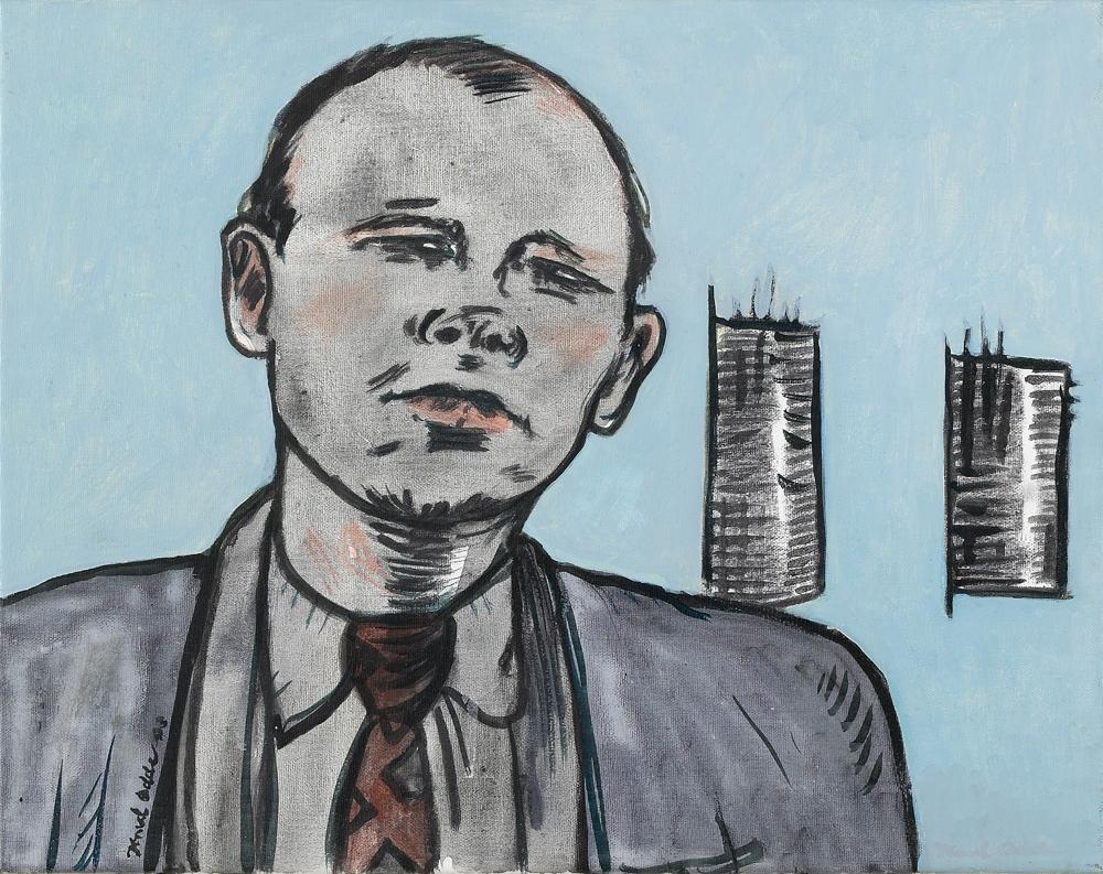 Canvas_Jack Spicer_30x40cm_Acrylic on canvas_2003
