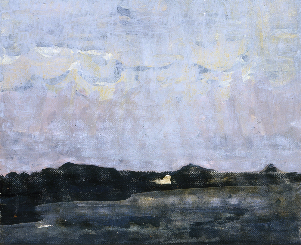 Canvas_Klarskov, Korsør_30x40cm_Oil, acrylic on canvas_1998