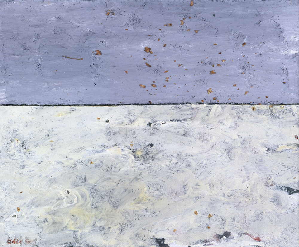Canvas_Klarskov, Korsør_30x40cm_Oil on canvas_1999