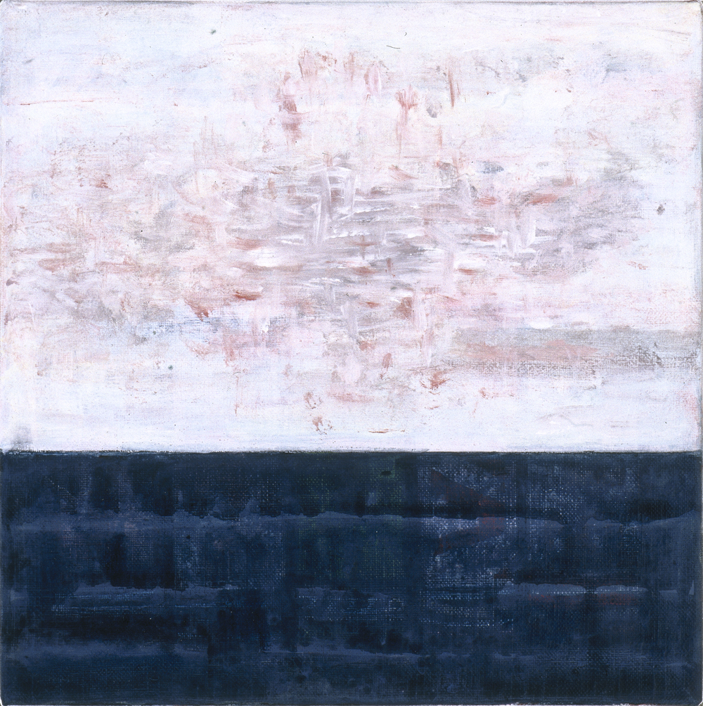 Canvas_Klarskov, Korsør_40x40cm_Oil on canvas_1998
