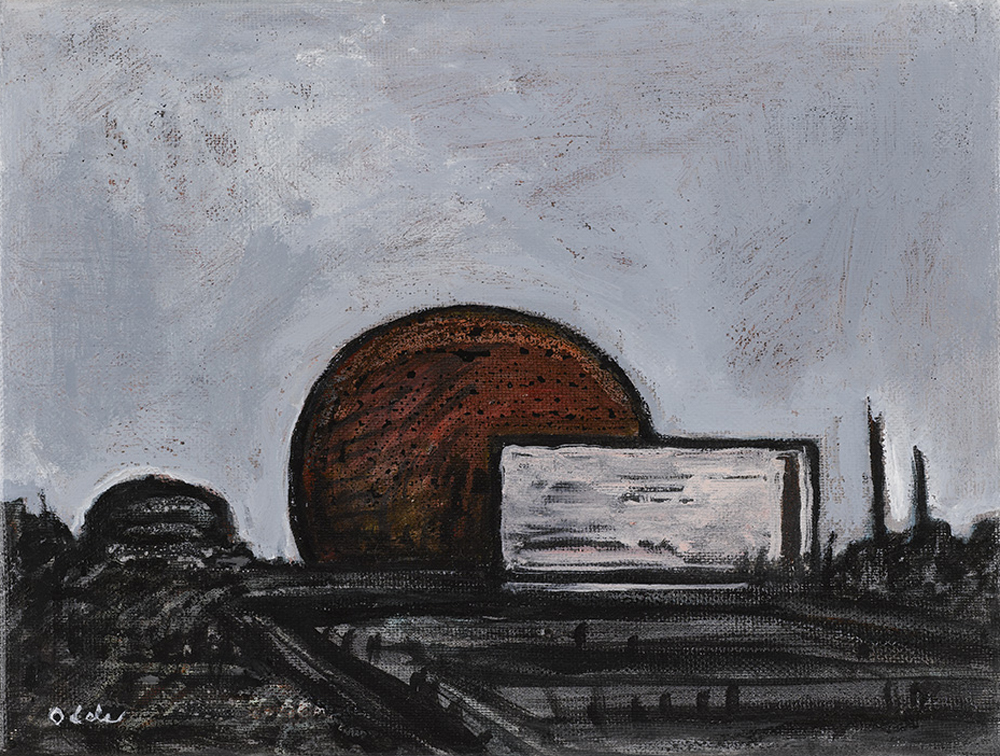 Canvas_Thule Air Base V_25x30cm_Acrylic on canvas_2007