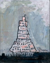 Canvas_Tower_50x40cm_Oil-on-canvas_2000