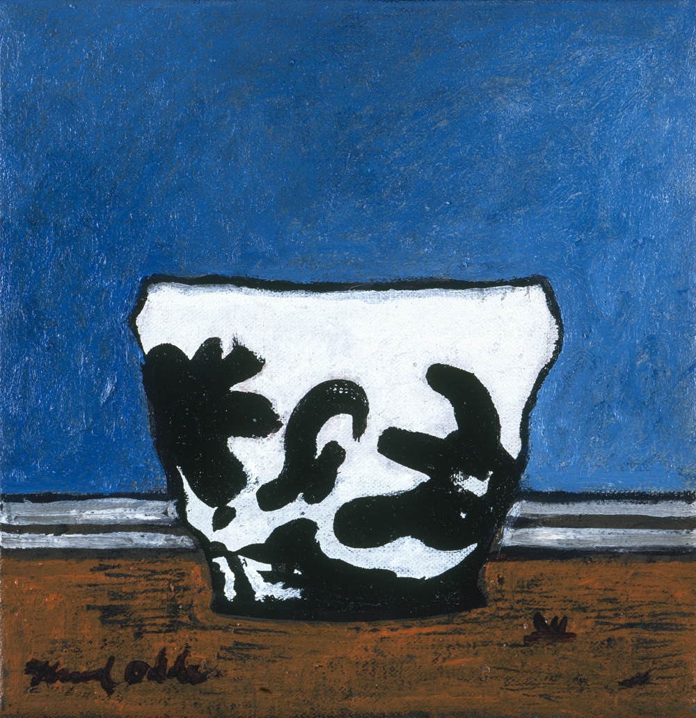 Canvas_Vase_30x25cm_Oil on canvas_2003