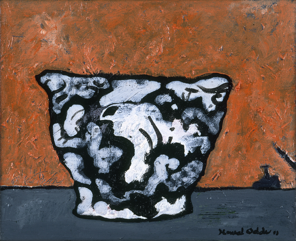 Canvas_Vase_30x40cm_Oil on canvas_2003_#2
