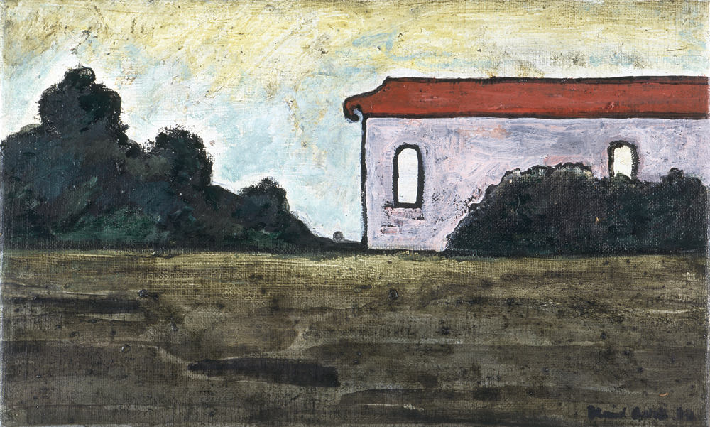 Canvas_Villa_25x40cm_Oil on canvas_1999