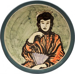 Ceramics_Decorated-Plate-I_44cm_Stoneware_2012
