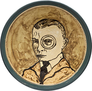 Ceramics_Decorated-Plate-XII_44,5cm_Stoneware_2012