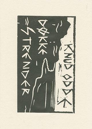 Graphics_Døkke-Strender_21x18cm_Linocut_2009