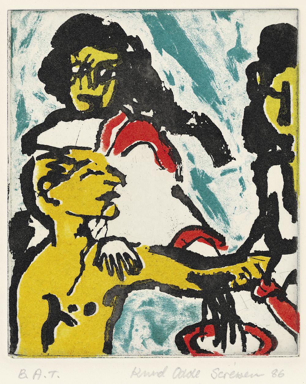 Graphics_Fra Lystmord for børn_38x32cm_Color-etching_1986