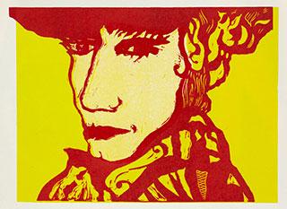Graphics_Fra-Venedig-(rød)_35x50cm_Linocut_2011