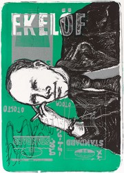 Graphics_Gunnar-Ekelöf-(grøn)_46,5x63cm_Litograph_2001