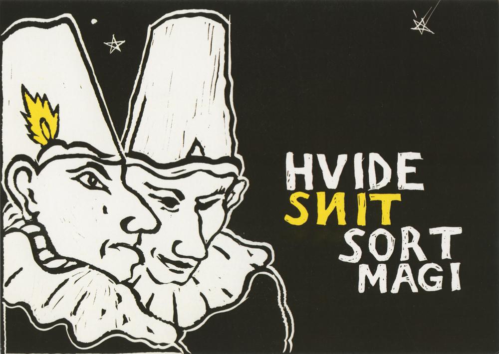 Hvide snit sort magi