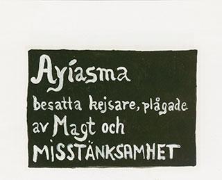 Paper_Ayiasma-(Ekelöf)_30,5x40,5cm_Gouache_2001
