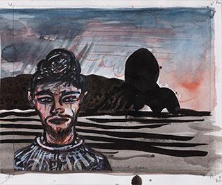 Paper_Jørgen-Lutterløgn_19,5x23,5cm_Ink,-gouache_2013
