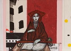 Paper_La-luna-Convento-XVII_27x36cm_Gouache,-collage_2011