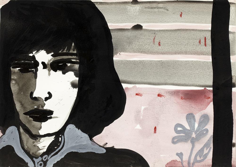 Paper_Monica_21x29,5cm_Ink, watercolour_2008 (?)