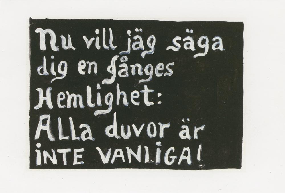 Paper_Nu vill (Ekelöf)_Gouache_30,5x40,5cm_2001
