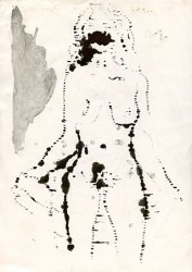 Paper_Nude-girl_29,5x21cm_Ink_1984