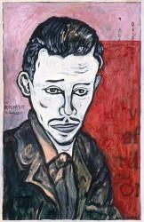Paper_Rilke_48x33cm_Acrylic_1996