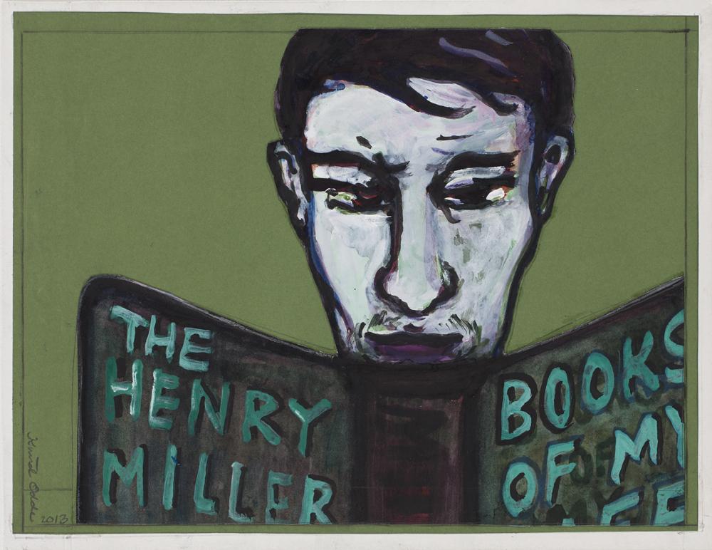 Paper_The Henry Miller Reader_22,5x29cm_Gouache_2013