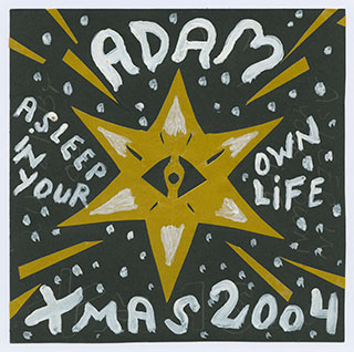 Scan_22_Vinyls_Adam-X-mas-cover_18x18cm_Glazed-paper,-gouache_2004