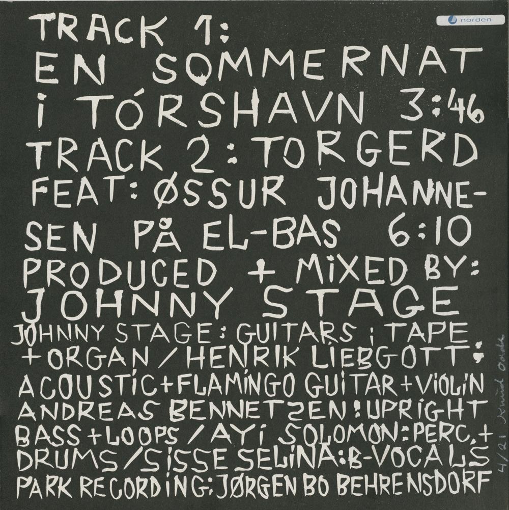 "Vinyls_Back-cover 10"" EP sleeve_10"" vinyl record, 26x26cm_Linocut on cardboard sleeve_2011"