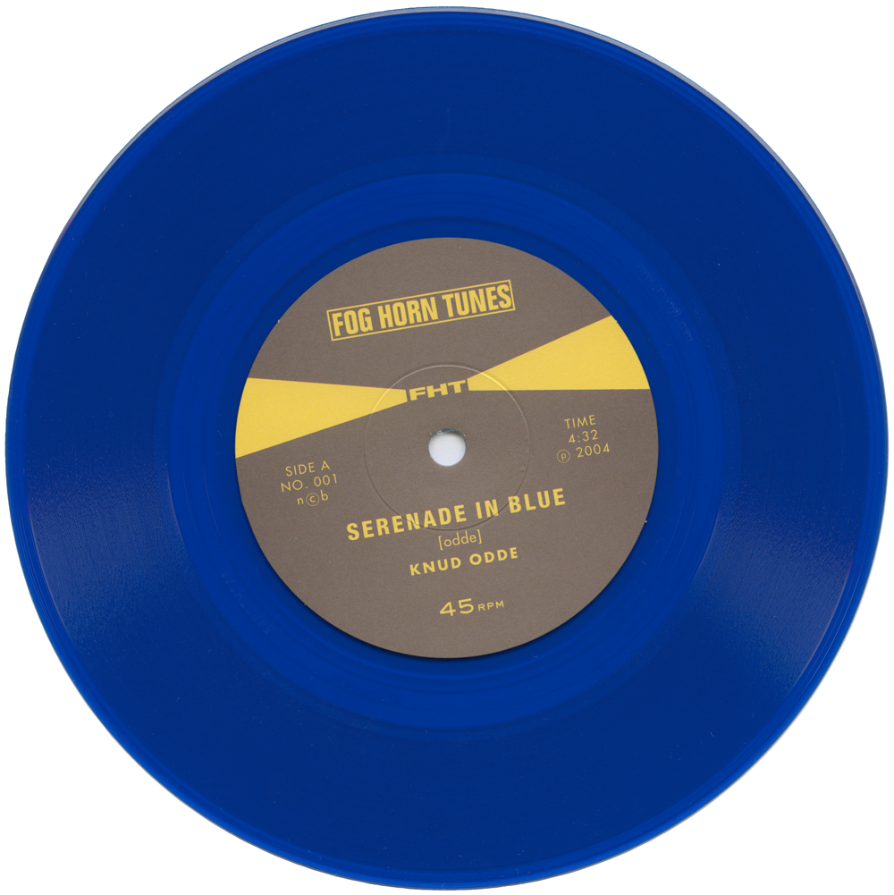 "Vinyls_Serenade in Blue_7""-record, 17cm_Blue vinyl_2004"