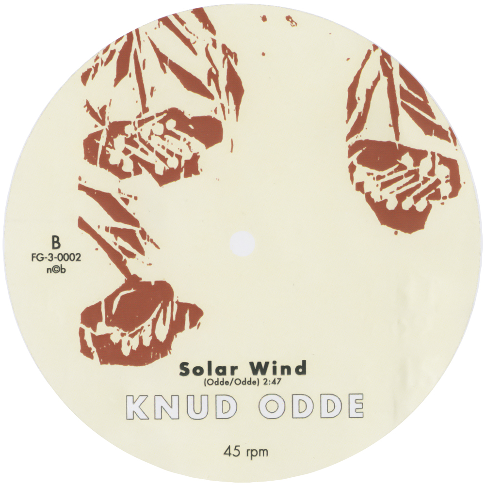 "Vinyls_Solar Wind 7""_8,3cm_Label, off-set_2007"