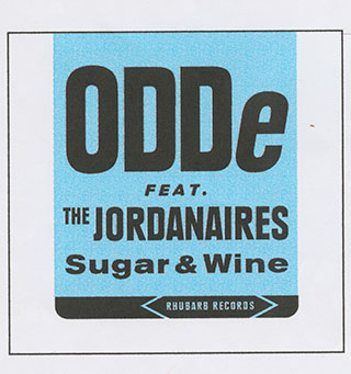 "Vinyls_Sugar-&-wine_3""---cd-single,-8,4x8,3cm_Sticker-on-cardboard_1999"