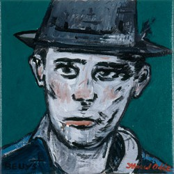 Canvas_Beuys_30x30cm_Acrylic-on-canvas_2006
