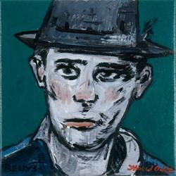 Canvas_Beuys_30x30cm_Acrylic-on-canvas_2006
