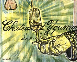 Canvas_Chateau-d'Yquem_40x60cm_Acrylic_1995