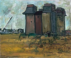 Canvas_Granary_40x50cm_Oil_2000