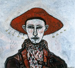 Canvas_Kogler-(Unknown-title)_80x100cm_Oil-on-canvas_2006