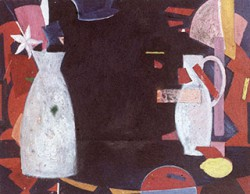 Canvas_Opstilling_50x70cm_Oil-on-masonite_1985
