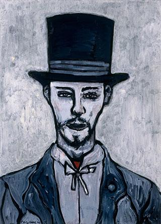 Canvas_Strindberg_60x40cm_Olie-på-lærred_1998