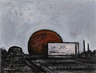 Canvas_Thule-Air-Base-V_25x30cm_Acrylic-on-canvas_2007