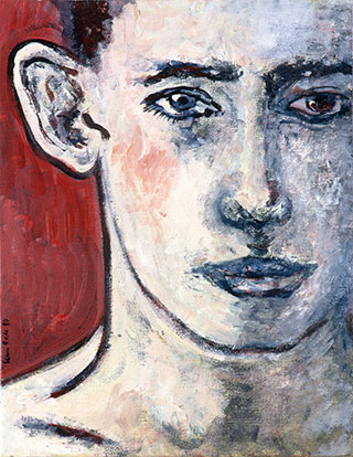Canvas_(Unknown-title)_36x30cm_Oil-on-canvas_1997